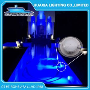 18W 24W 30W 35W 42W Piscina LED Luz subaquática com IP68 Marcação RoHS FCC