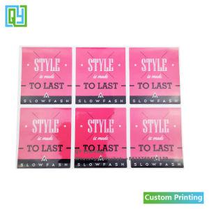 Специализированные печатные логотип торговой марки отметьте полиэстер пластиковые бутылки съемные этикетки