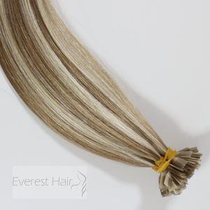 P1001/8 Prebonded brasileño Virgen Remy extensiones de cabello humano.
