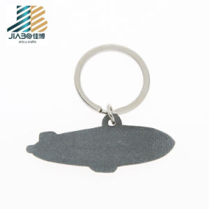 Haut de vendre de l'émail en alliage de zinc métal de requins de la chaîne de clés personnalisées