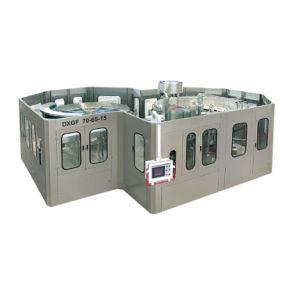 自動炭酸清涼飲料のプラント炭酸水・の充填機