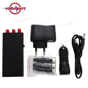 Jammer señal de bloqueo para CDMA/GSM/3G móvil Wifi/Bluetooth de hasta 10 metros, hasta 2 horas de uso continuo de la carga completa