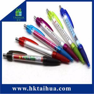 주문 로고에 의하여 인쇄되는 사무용품 승진 선물 펜 플라스틱 기치 펜
