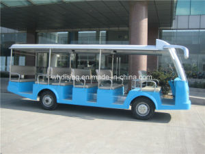 23 lugares Electric/ alimentada por pilha Automóvel de passageiros/autocarro
