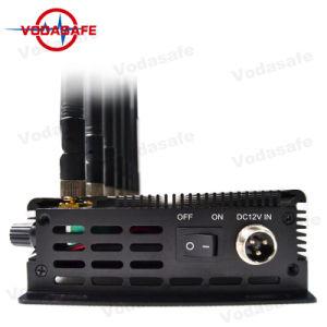 Stoorzender van Acht Banden van de hoge Macht de Milieuvriendelijke, 2018 Stoorzender van de Gevoeligheid van 8 Antennes de Draagbare voor RC /GPS /WiFi /3G/4G, Antennal Mobiele Isolator van het Signaal van Telefoon 8