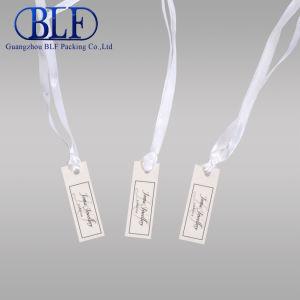 Малые нестандартного формата бумаги ювелирные изделия теги индексов с лентой (BLF-T004)