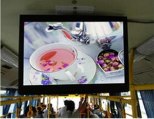 15inch는 역행시킨다 선수 (SY-B150)를 광고하는 걸림새 버스 LCD를