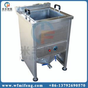 Kommerzielle elektrische Heizungs-Schnellimbiss-Bratpfanne/Kartoffelchips, die Maschine braten