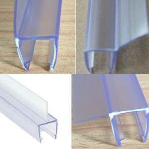 Porte de douche en verre transparent en PVC bande de joint de l'eau