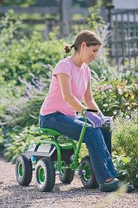 Trator Scoot Deluxe Jardim evolutivo para jardineiros