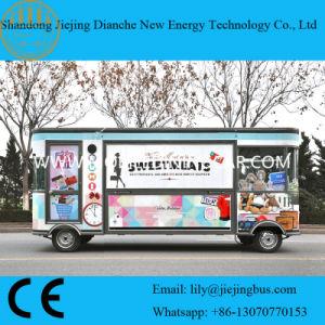 2018 de Hete Vrachtwagens van het Voedsel van de Verkoop Elektrische Mobiele