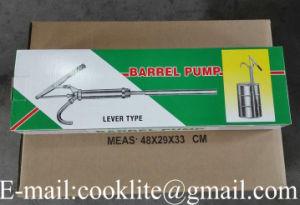 Acción de palanca barril petróleo diesel Bomba de mano de combustible 205L TAMBOR