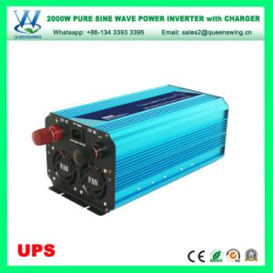 UPS 2000W Micro Portable Aluguer de onda senoidal pura Inversor (QW-P2000UPS)
