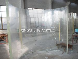 曲げられた鋳造物のアクリルの風防ガラスシート