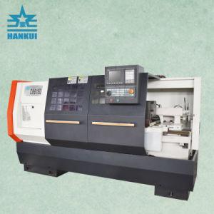 máquina de torno CNC de GSK Cknc chino6136 Venta caliente China Mini CNC Máquina de metal con marca Hankui