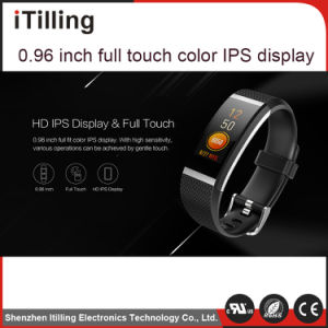 Pantalla en color distribuidor Digital de Fitness Sport Reloj inteligente con la frecuencia cardíaca/registro del sueño/Podómetro/recordatorio/sedentarios de la presión arterial