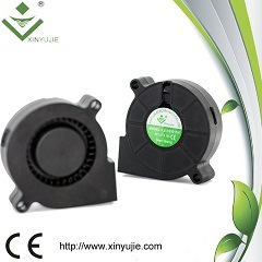 50x50x15mm 5015 ventilateur à soufflante sans balai de CC 5V 12V ventilateur 24 V