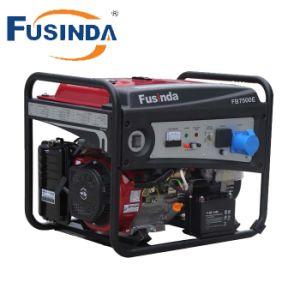 Potência portátil Fusinda gerador a gasolina, Home gerador com marcação (1KW-7KW)