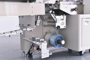 Almohada totalmente automática Máquina de embalaje para el tenedor y cuchara desechables