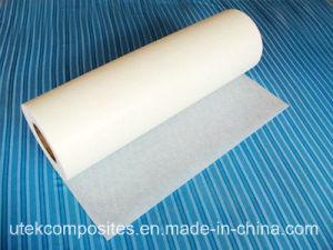 Dikte 0.6mm de Mat van de Oppervlakte van de Glasvezel voor het Substraat van de Separator van de Batterij