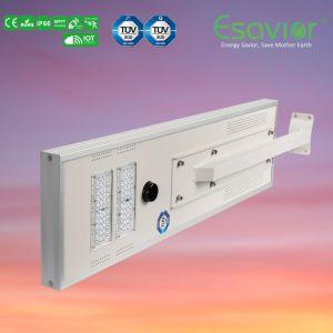 LED Esavior todo en una calle solar integrada inteligente/Sensor de luz con Iot RoHS CE Certificado IP66.
