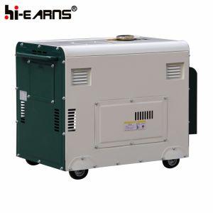Generatore diesel del singolo cilindro raffreddato ad aria a tre fasi (DG8500SE3)