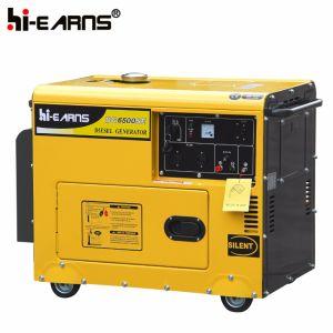 Luftgekühlter leiser Typ einzelner Zylinder-Dieselgenerator-Set (DG3500SE3)