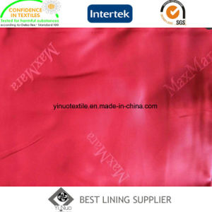 Poli Viscose Suit Jacket Casaco Jacquard Tecido de forro de logotipo personalizado