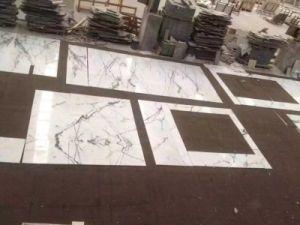 Tegels van de Muur van de Badkamers van de Vloer van de Steen van het Mozaïek van het Graniet van China de Natuurlijke Witte Kalksteen Opgepoetste Marmeren