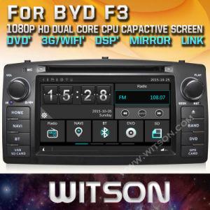 Tela de Toque do Windows Witson aluguer de DVD para Byd F3