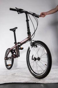 20インチの女の子のための鎖のないバイク都市折る自転車