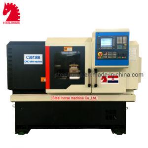 Ck6136/40/50/63/80/100 de metal de cama plana horizontal máquina de torno CNC