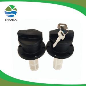 Nouveau design Le couvercle du réservoir de carburant en nylon bouchon du réservoir de carburant diesel avec la touche pour utiliser le générateur