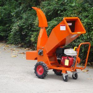 Qualidade comercial13HP gasolina alimentado 85mm capacidade suores do picador de madeira