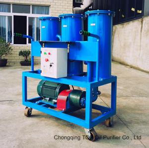 Aceite lubricante de la máquina portátil purificador Filtro Three-Stage máquina ().