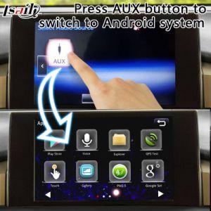 Dois-em-um interface de navegação para 2014-2017 Android Lexus Nx suportam controle botão OEM