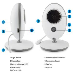 Draadloze LCD Audio VideoIP van de Muziek van de Monitor van de Baby RadioCamera