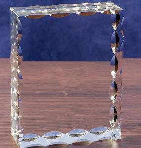Verschillende Vorm van de Kubus van het Glas van het Kristal