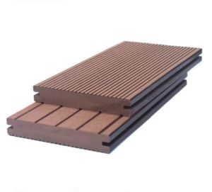 Простая установка на открытом воздухе Композитный пластик древесины экологически декорированных WPC пол