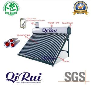 減圧された真空管の太陽給湯装置(CNP-58)