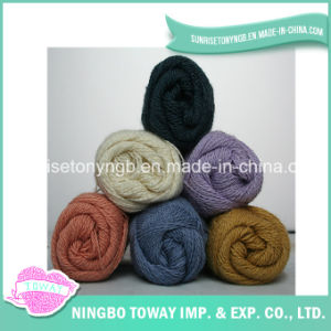 Venda por grosso de Fábrica do Lado do bebê tricot de alpaca fios para tricô camisolas