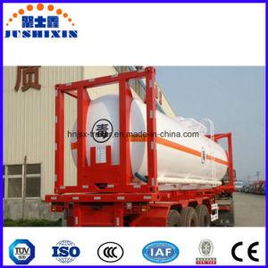 24 contenitori acidi del serbatoio dell'HCl Tanktransport del corrosivo chimico liquido M3