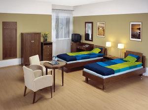 Muebles de madera Hotel popular juego de muebles de dormitorio