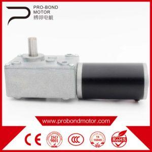 El Gusano de alta calidad de la velocidad del motor reductor de la DC