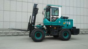 3tonne off-road diesel chariot élévateur à fourche de Qdhz