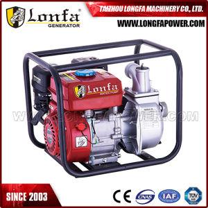 3pulgadas 6.5HP portátil Inicio manual de la bomba de agua del motor de gasolina