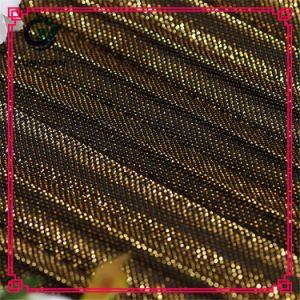 Tessuto di maglia respirabile tinto filato di nylon del poliestere per vestiti