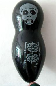 De reuze Ballons van het Latex van Halloween Schedel Gevormde (PM191)