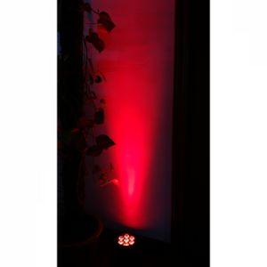 7X10W RGBA 4en1 LED de alta potencia PAR DJ Luz