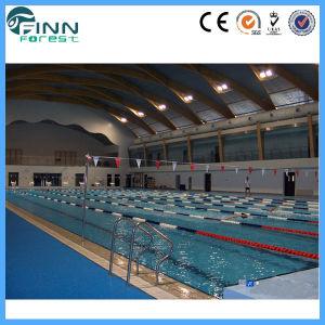 Memorizzare la bobina del vicolo per la linea di corsia di nuotata di lunghezza di 25m